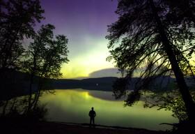 Northern Lights, Glacier Park