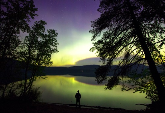 Northern Lights, Glacier Park