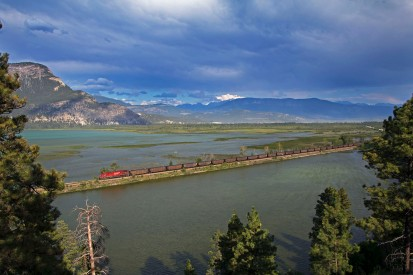 Canadian Pacific, British Columbia