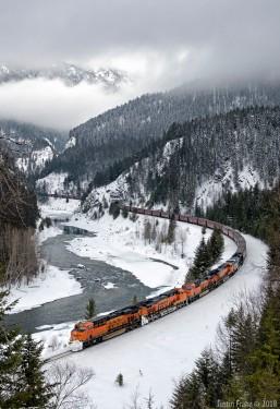BNSF Railway, Montana